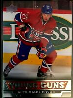 2013-14 Upper Deck Young Guns Alex Galchenyuk Card #203 Montreal Rookie