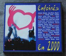 Enfoires en 2000 - restos du coeur - bruel cabrel clerc goldman ect ...,  CD