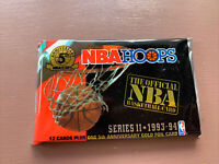 1993-94 Hoops Basketball Series 2 - Sealed Pack Basketball Cards - Magic, Larry