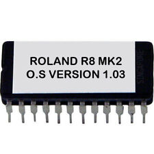 Roland R-8 MKII Version 1.0.3 firmware OS update upgrade EPROM drum machine