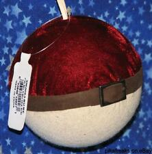 New Pokemon Pokeball Look Alike Christmas Ornament From Amish Country Ohio USA