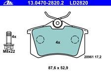 Bremsbelagsatz Scheibenbremse ATE Ceramic - ATE 13.0470-2820.2