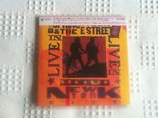 Bruce Springsteen  Live in New York City  Japan Mini LP (Edición Japonesa)