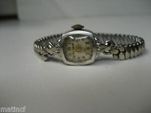 Bulova 10K Gold Filled 17 Jewels Watch - Swiss Made