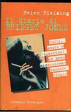 FIELDING HELEN IL DIARIO DI BRIDGET JONES SONZOGNO 1998 I° ED. ROMANZI SONZOGNO