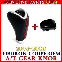 New Auto Shift Knob Lever SET For  2003 - 2008 Hyundai Tiburon Coupe OEM