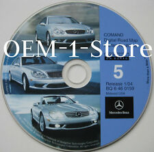 01 02 2003 MERCEDES BENZ CL500 CL600 CL55 AMG NAVIGATION NAV MAP DISC CD MIDWEST
