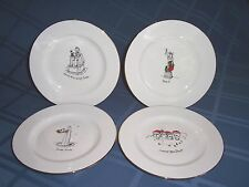 Merry Masterpieces Plate Set- 1st Edition- American Col. w/ Box CHRISTMAS  26I