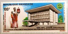 RWANDA RUANDA 1971 463 A C8 UAMPT Fernmeldeunion African Postal Union Post MNH