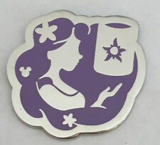 Disney Pin DLR 2018 Hidden Mickey Princess Rapunzel Tangled Silhouette Pin