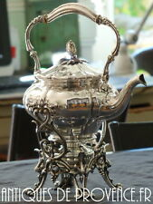CHRISTOFLE Antique Huge Samovar Louis XV Rococo 1880 Tea pot Fountain RARE