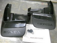 1990-1991 GENUINE HONDA CRX REAR MUD FLAP SPLASH GUARD SET