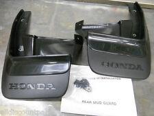 1990-1991 GENUINE HONDA CRX REAR MUD FLAP SPLASH GUARD SET