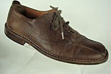 Tommy Bahama Men Brown Leather Lace Up Stylish Casual Spain Oxford Shoe Sz 11