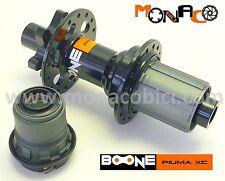 MOZZO POSTERIORE MTB BOONE PIUMA XC 142x12 NERO - MTB DISCO 32 FORI