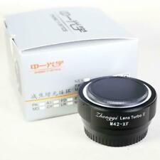 Zhongyi Speed Booster Lens Turbo II Adapter for M42 Lens to Fujifilm X Camera