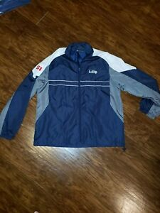 Seattle Seahawks Sports Illustrated Jacket Windbreaker Large EUC Embroidered