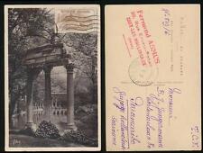 FRANCE 1927 WAR ORPHANS 50c + 10c PPC to SURINAME FERNAND ASMUS HANDSTAMP SG451
