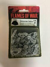 New listing Flames of War Italian Motorciclisti Platoon