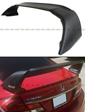 2012-2015 9TH GEN HONDA CIVIC SEDAN FB PRIMER BLK JDM MUG RR STYLE TRUNK SPOILER