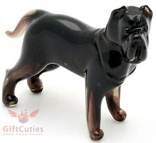Art Blown Glass Figurine of the Neapolitan Mastiff dog