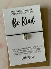 Be Kind Always Wish Bracelet Samaritans