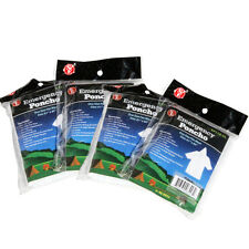 Emergency Poncho - 4 pack multiuse emergency outdoor survival tool - NEW