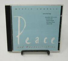 MYSTIC CHORALE: PEACE & RECONCILIATION MUSIC CD, NICK PAGE, 2002 TREMONT TEMPLE