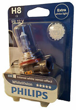 H8 PHILIPS WhiteVision Intense white  PGJ19-1 3500K 1er UK ref.: 708 12360WHVB1