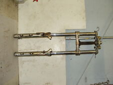 1987 Yamaha XV700 Virago Front forks with triple tree / clamps.