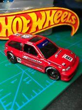 🔴Hot Wheels Custom'Spoon'90 Honda Civic EF With Real Riders