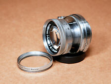 Leica Summicron 50mm f/2 Collapsible Screw Mount LTM L39 M39 Standard Lens!