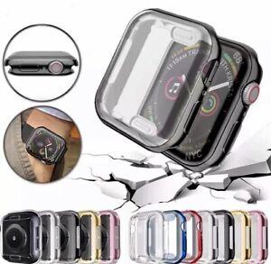 ✅ Schutzhülle Apple Watch iWatch Series 2/3/4/5/6/SE 38/40/42/44mm Case farbig ✅