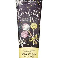 New! Cakepop Confetti Bath Body Works Birthday Lotion Vanilla Cake Batter