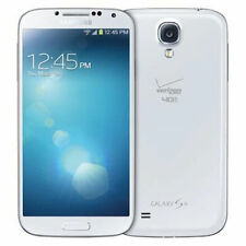 Mint Samsung Galaxy S4 S IV i545 16GB White Frost Verizon Smartphone 13MP Camera