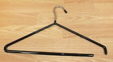 Unbranded Chrome Metal Rubber Coated Open End Pants Clothes Hanger  **READ**