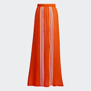 adidas x Ivy Park Flex Beyonce Orange Swim Cover Up Skirt Large L HD0294 BNWT