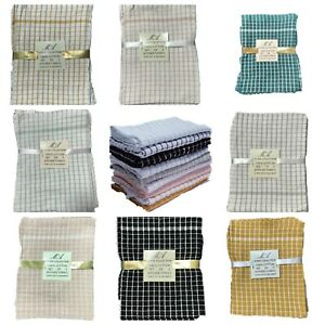 Premium Quality Egyptian 100% Cotton Super Soft and Absorbent Dish Tea Towels
