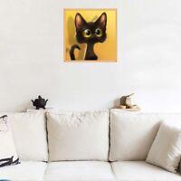 Décoration De Maison Broderie Point De Croix Peinture Diamant 5D Motif Cat