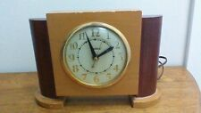Vintage United Wood Electric Clock