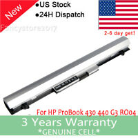 RO04 Battery for HP ProBook 430 440 G3 RO06 RO06XL 805292-001 HSTNN-LB7A New