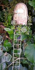 Miniature ROPE LADDER for Fairy Gardens FAIRY DOOR accessory natural /beige