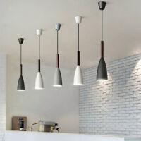 Wood Pendant Light Bar Modern Ceiling Lights Kitchen Pendant Lighting Home Lamp