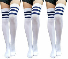 1aff3d96499 M 100% Cotton Thigh-Highs Stockings   Thigh-High Socks for Women for ...