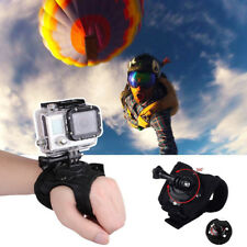 360° Swivel Rotation Glove Wrist Band Strap Belt Mount for GoPro Hero 5/4/3+