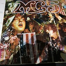 MC5 1969 LP KICK OUT THE JAMS UK ELEKTRA BUTTERFLY K 42027 EX/VG GF GARAGE