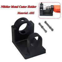 Sheet Metal Saw Nibbler Power Drill Double Head Cutter Holder Cutting Hand Tool