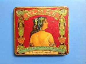 ELMAS Cigarette / tobacco tin