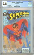 Superman The Man of Steel #1 CGC 9.8 White Pages 2080627005