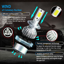 H7 LED Headlight Kit Bulb 1500W 225000LM Pure White 6000K Single Beam Light BG1